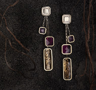 Rati Earrings by Nine Vice, Contemporary Earring