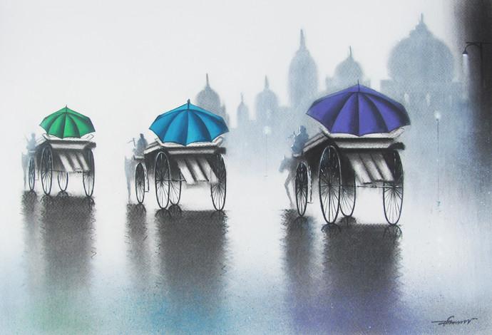 Rhythmic Monsoon Ride By Somnath Bothe