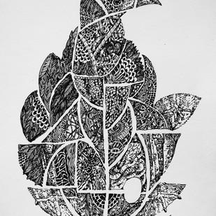 EGG by rajshree ramesh, Illustration Drawing, Ink on Paper, Black color