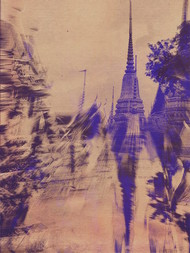 Temple Of The King In Sepia by Tanya Palta, Image Photography, Digital Print on Paper, Brown color