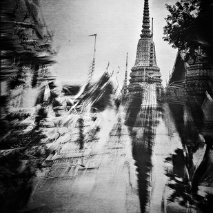 Temple Of The King In Monochrome by Tanya Palta, Image Photography, Digital Print on Paper, Gray color
