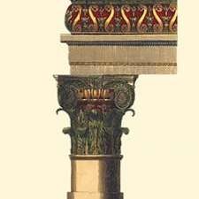 Column and Cornice I Digital Print by Vision Studio,Decorative
