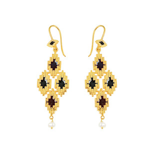 IKAT 4 by ESA, Contemporary Earring