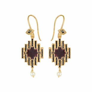 IKAT ELEMENT by ESA, Contemporary Earring
