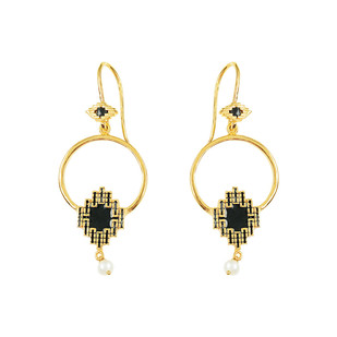 IKAT ELEMENT 2 by ESA, Contemporary Earring