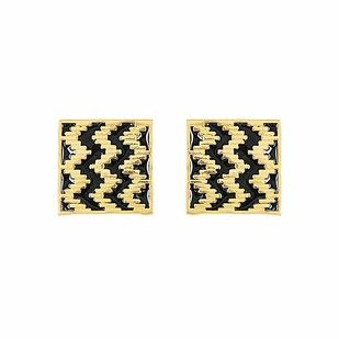 IKAT SQUARE Earring By ESA