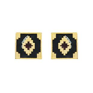 IKAT DIAMOND Earring By ESA