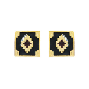 IKAT DIAMOND by ESA, Contemporary Earring