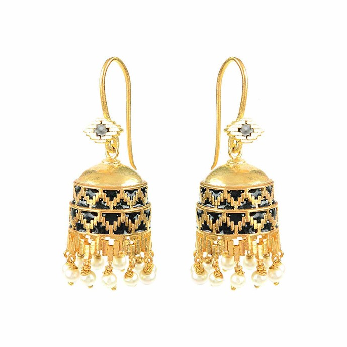 IKAT BIG MONUMENT (ESA0263) by ESA, Contemporary Earring
