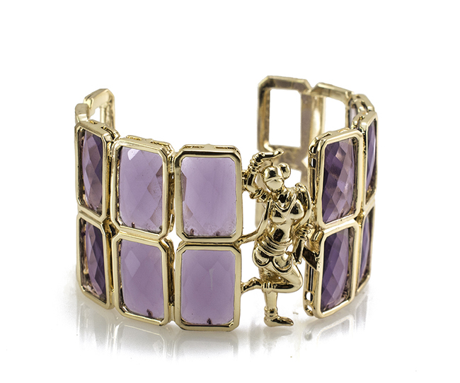 Apsara Cuff by Nine Vice, Art Jewellery Bangle