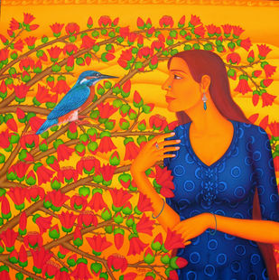 Tryst with Nature I Artwork By Sabia Khan