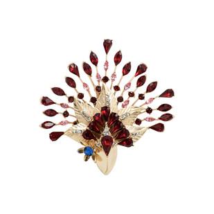 Mystery Brooch in Swarovski by Nine Vice, Art Jewellery Brooch