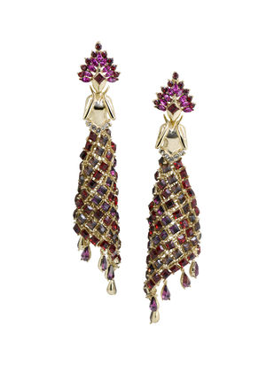 Feerie` Earrings in Swarovski Earring By Nine Vice