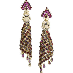 Feerie` Earrings in Swarovski by Nine Vice, Art Jewellery Earring
