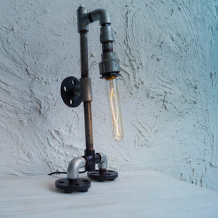 Robo Floor Lamp Industrial Table Lamp By The Black Steel
