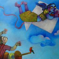 I can fly Print By Sunita Dinda