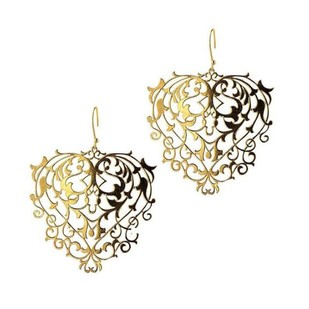 Mini Baroque Earrings by Eina Ahluwalia, Contemporary Earring