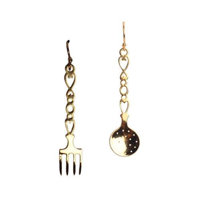 Kitchen Set Earrings by Eina Ahluwalia, Contemporary Earring