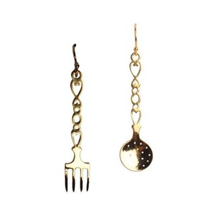 Kitchen Set Earrings by Eina Ahluwalia, Contemporary Earring