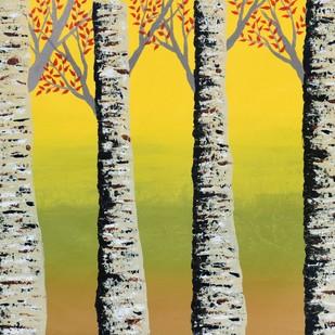 Early Autumn Digital Print by Sumit Mehndiratta,Impressionism
