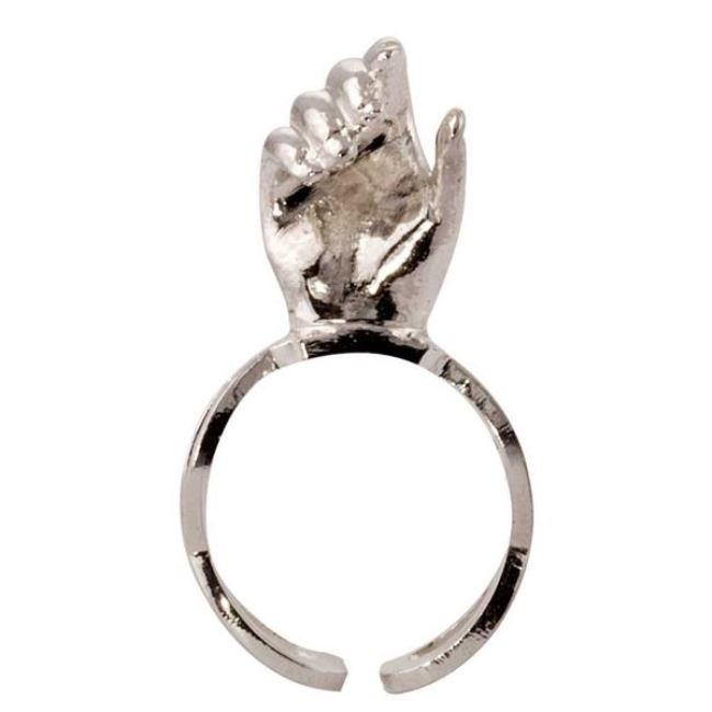 Hold on Ring by Eina Ahluwalia, Contemporary Ring
