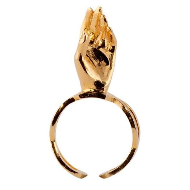 Reach Out Ring by Eina Ahluwalia, Contemporary Ring