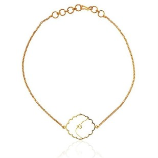 Ek Omkar Bracelet by Eina Ahluwalia, Contemporary Bracelet