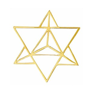 Star Tetrahedron Brooch by Eina Ahluwalia, Contemporary Brooch