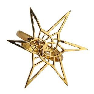 Star Spiral Fractal Ring Ring By Eina Ahluwalia