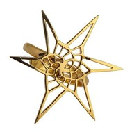 Star Spiral Fractal Ring by Eina Ahluwalia, Contemporary Ring