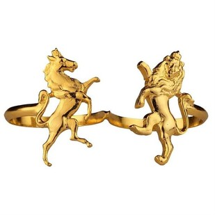 Warriors & Crusaders Ring by Eina Ahluwalia, Contemporary Ring