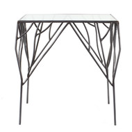 The lohasmith   wildwood   branch accent table