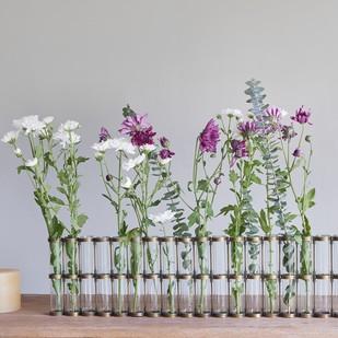 Test Tube Vase 20 Holder Decorative Vase By The Lohasmith