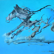 Running horse iol on canvas 36x48in%28low res%29