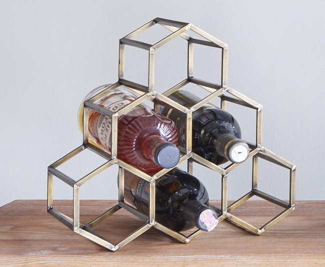 The lohasmith   beehive table wine   bar rack