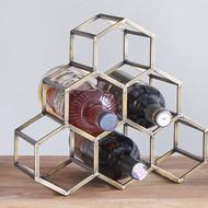 The lohasmith   beehive table wine   bar rack