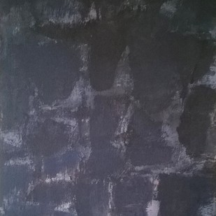 Untitled II by Santosh Shirsat, Abstract Painting, Acrylic on Canvas, Gray color