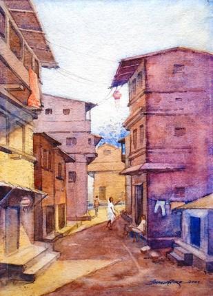 Old Lane Artwork By Ananda Ahire