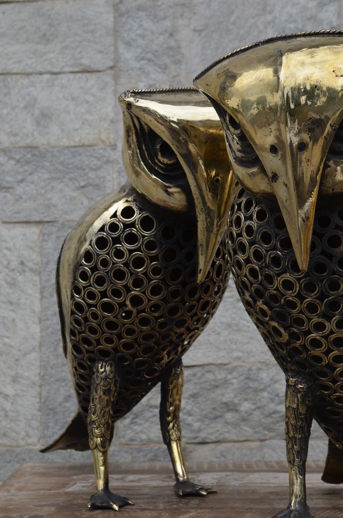 Pair of Owl Artifact By Takshni