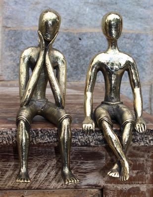 Sitting Men (Pair) Artifact By Takshni
