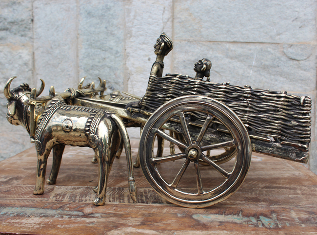 Bullock Cart Artifact By Takshni