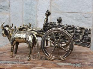 Bullock Cart Artifact By Takshni