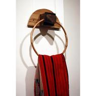 Naga hornbill towel ring