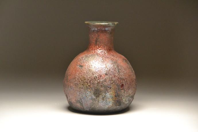 Metal coats- Raku fired by Meenakshi Garodia, Decorative Sculpture | 3D, Ceramic, Brown color