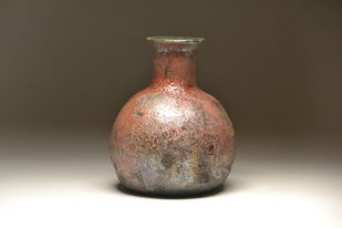 Metal coats- Raku fired by Meenakshi Garodia, Decorative Sculpture | 3D, Ceramic, Brown color