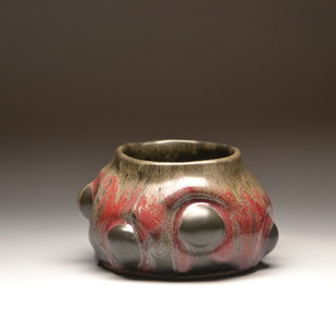 Emerging by Meenakshi Garodia, Art Deco Sculpture | 3D, Ceramic, Brown color