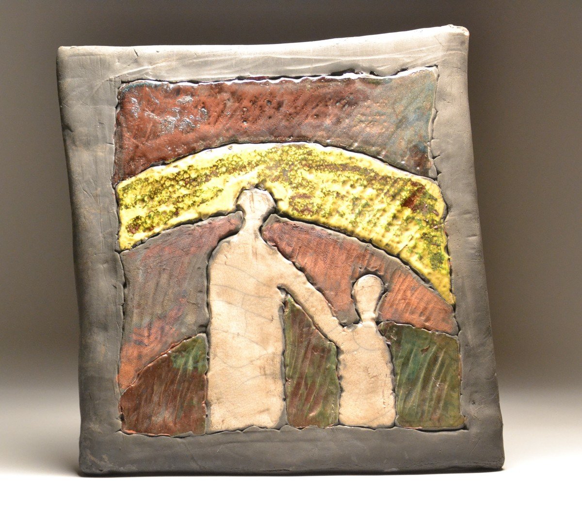 Unique Raku Wall Art Adornment - Wall Art Collections ...
