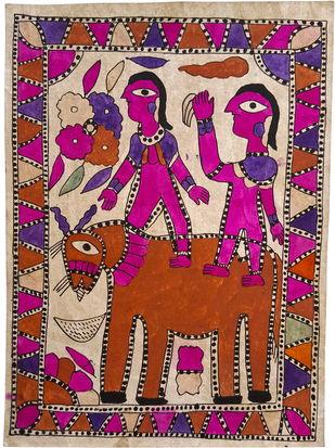 Royal Riders Artwork By Yamuna Devi