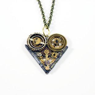Ruby Heart by Absynthe Design, Art Jewellery Pendant