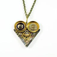 Blue Fire by Absynthe Design, Art Jewellery Pendant